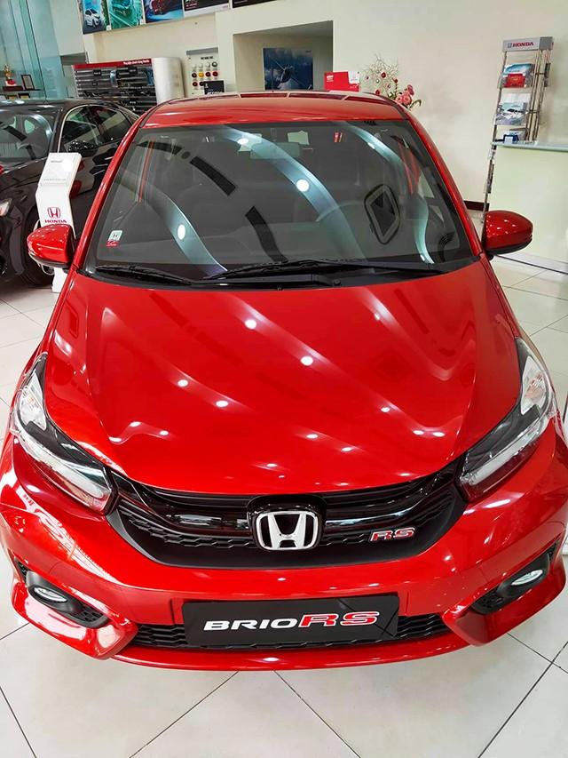 Đánh giá xe Honda Brio: Đầu xe