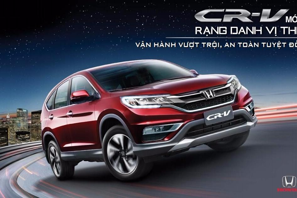 Honda Việt Nam thông báo kết thúc chương trình Khuyến mại dành cho Honda CR-V 2.4 và chương trình bán CR-V nội bộ dành cho khách hàng thân thiết