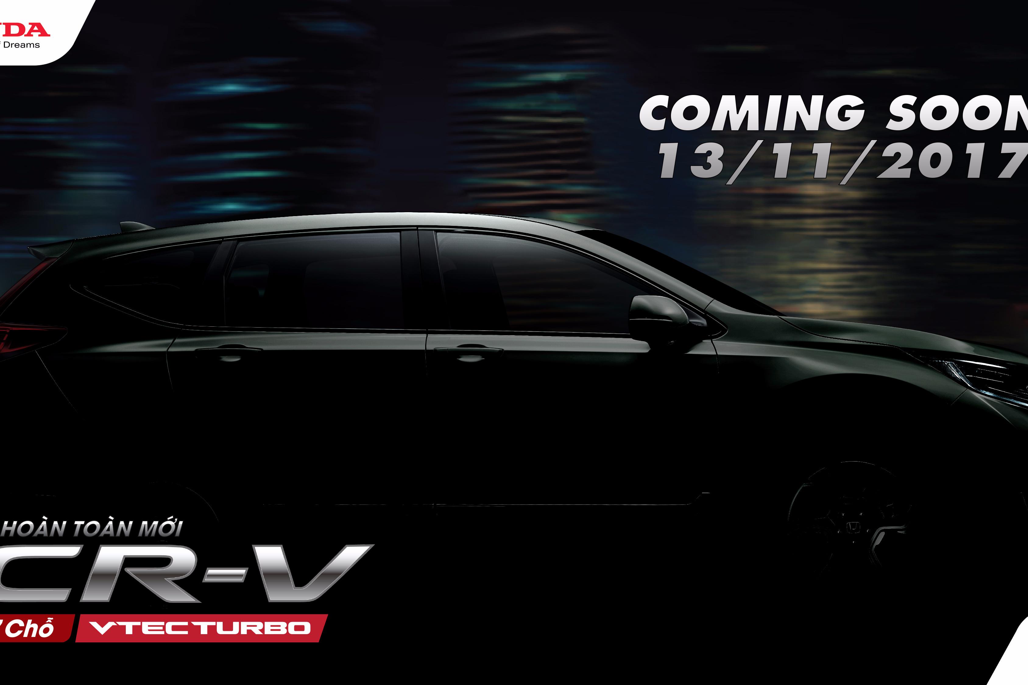 Honda CR-V thế hệ thứ 5 hoàn toàn mới sắp được ra mắt tại Việt Nam